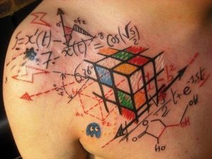 mathematical tattoo