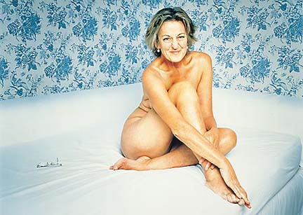 naked Germaine Greer pose for Playboy at 60+