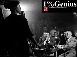 Ella Fitzgerald, Duke Ellington, Benny Goodman, NYC, New York, 1948