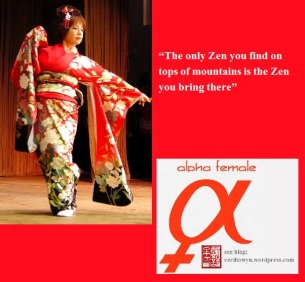 Michiko Moriguchi appearing in a traditional Japanese kimono at the Japan Festival Melbourne.