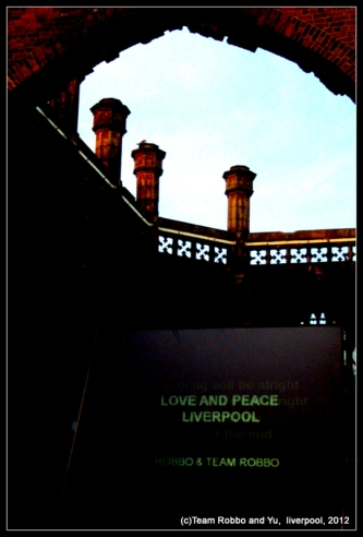 (c) Team Robbo and Yu, Liverpool, 2012
