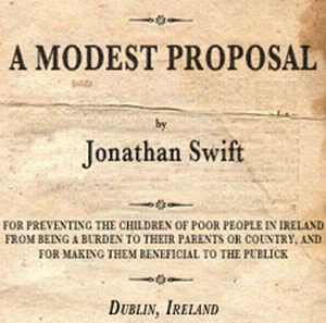 Free Eessay A Modest Proposal By Dr Jonathan Swift Project  Free Eessay A Modest Proposal By Dr Jonathan Swift Project Gutenberg