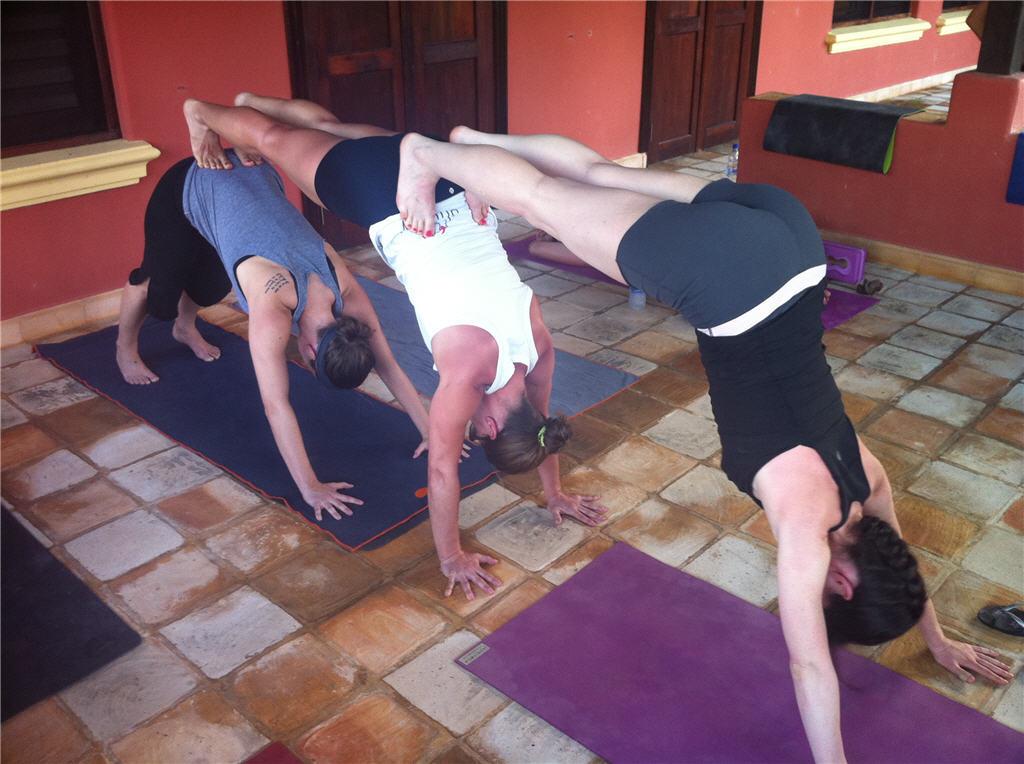 Copenhagen Bodil Takes Up The 30 Days Bikram Yoga Challenge Daily Updates Sustain Able 余 Www Ceciliayu Com
