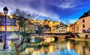 Alzette River in Luxembourg Photo by Wolfgang Staudt