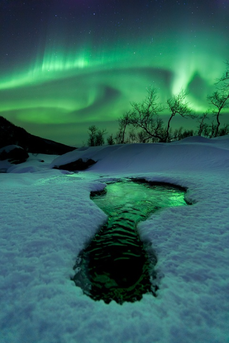 Aurora,Bigfoot, Norway. Photo by Arild Heitmann