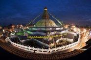 boudha stupa night