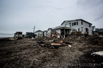 More debris. Hurricane Sandy