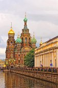 Saviour of Spilled Blood Church, St Petersburg, Russia
