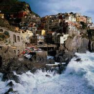 The old town of Manarola, Italy