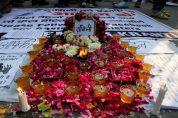 29th Dec 2012 New Delhi protest as victim died after gang-rape