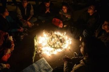 29th December 2012 - peaceful protest after the death of the 23-year-old student from New Dehli who died from her injuries caused by a gang-rape two weeks earlier. (4)