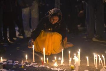 29th December 2012 - peaceful protest after the death of the 23-year-old student from New Dehli who died from her injuries caused by a gang-rape two weeks earlier. (5)