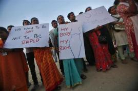 antirape protest india