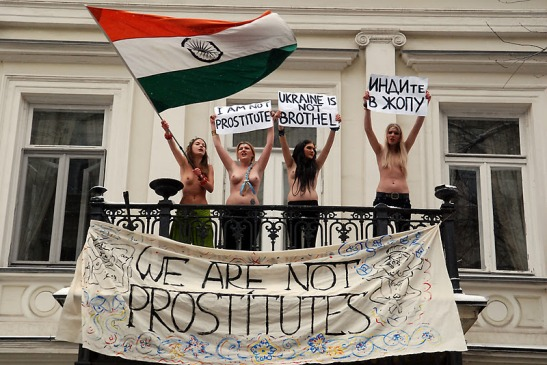 We are NOT Prostitutes (c) femen.org