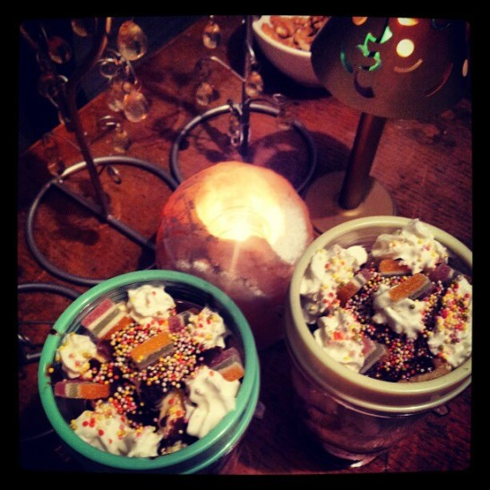 Ice-cream sundaes