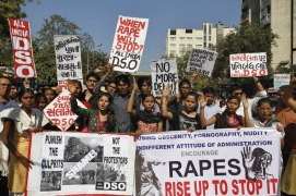 India Gang Rape protest (12)