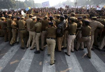 India Gang Rape protest (24)