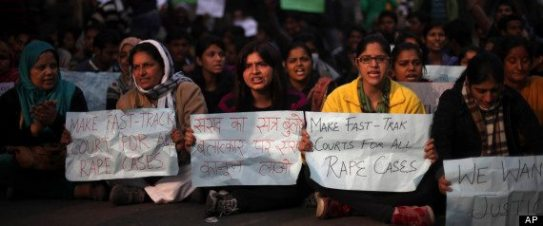 India Gang Rape protest 24th Dec. AP Photo (c) Altaf Qadri AP