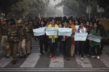 India Gang Rape protest (9)