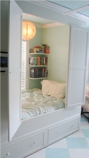 Hidden Reading Nook, Louisville, Kentuckyphoto via susan martin