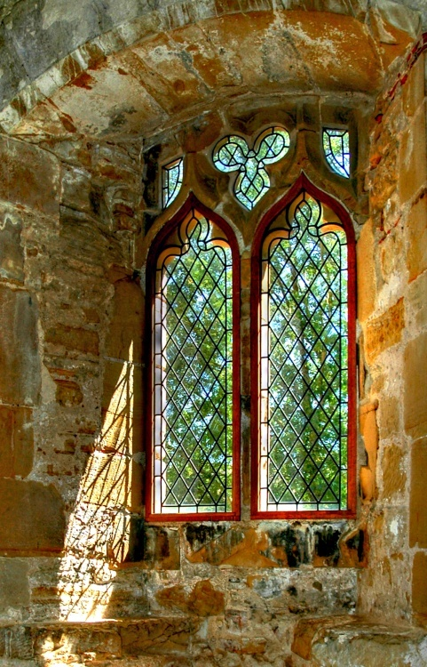 Medieval Abbey Window, East Sussex, (c) www.picturesofengland.com