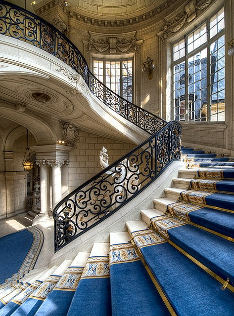 Stairway, Versailles, Francephoto via tammy