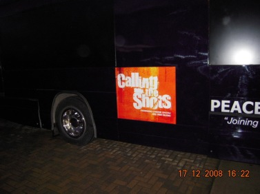 rightside view of the bus (outside)
