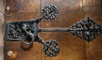 Chameleon & Snail Door Handle