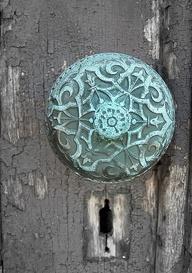 door knob details