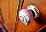 hand painted door knob