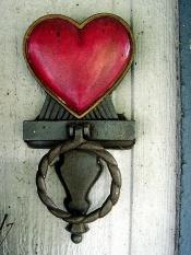 hear door knob