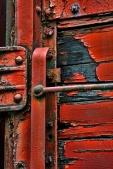 industrial textured door knob