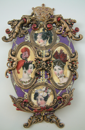 PurpleFabergeEggClosed Imperial eggs (c) Fabergé