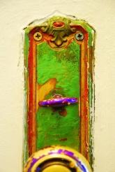 textured door knob