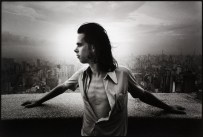 Nick Cave shot by Steve Double