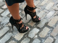 Perfect-pedicure-a-must-for-these-gorgeously-cut-shoes-that-her-daughter-made-