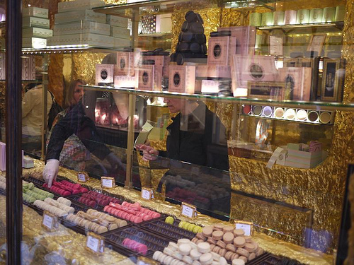 Burlington arcade sweet chocolate shop London