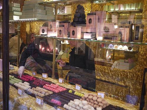 Burlington arcade sweet chocolate shop London