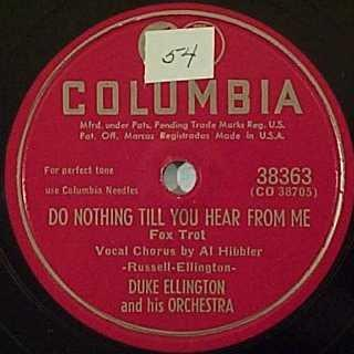 duke ellington do nothing till you hear from me
