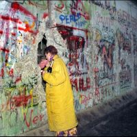 Santa Monica (LA) , USA: Art and Democracy Exhibition: 25th Anniversary Fall of the Berlin Wall
