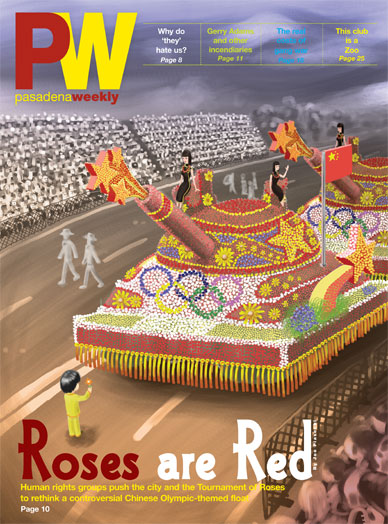 Pasedena Doo-Dah human rights float 2014