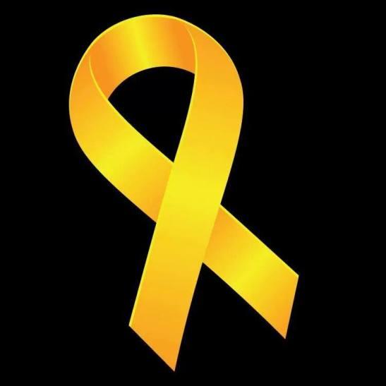 Hong kong protest yellow ribbon