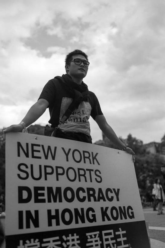 New York supports hong ong protest 2014