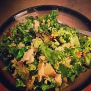 Chicken salad greenhouse