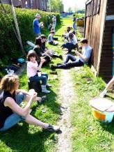 Greenhouse gardening day1