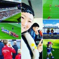 #FreeHongKong : Attending #Liverpoolfc Legends & #Rangersfc #Legends #CharityMatch was fun! #NobelPeacePrize