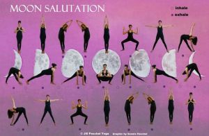 Simple Moon Salutation